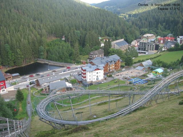 Webcam Skigebiet Pec pod Snezkou Relax Park - Riesengebirge