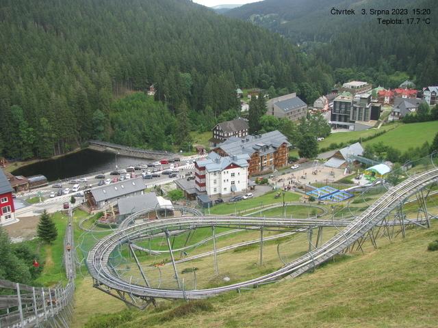 Webcam Ski Resort Pec pod Snezkou Relax Park - Giant Mountains