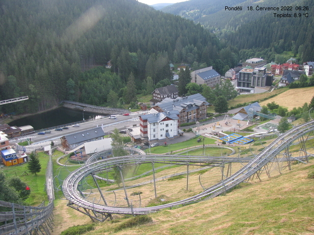 Webcam Skigebied Pec pod Snezkou Relax Park - Reuzengebergte