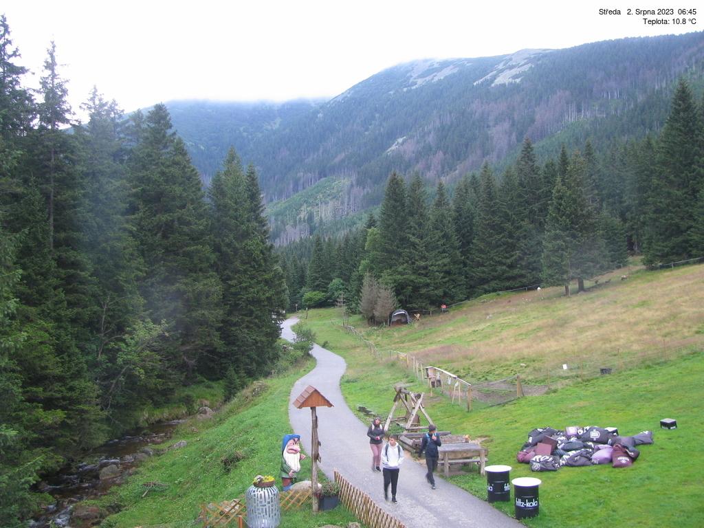 Webkamera Bouda pod Sněžkou