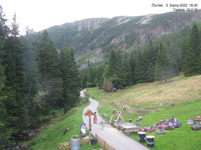 Webcam Skigebiet Pec pod Snezkou cam 5 - Riesengebirge