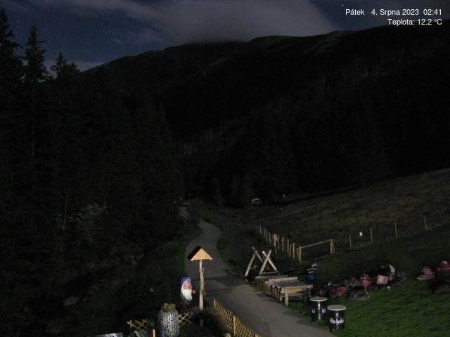 Webcam Skigebied Pec pod Snezkou cam 5 - Reuzengebergte