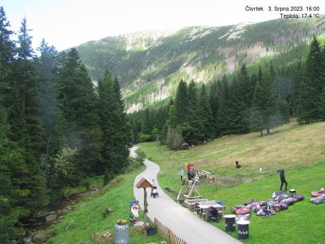 Webcam Ski Resort Pec pod Snezkou cam 5 - Giant Mountains