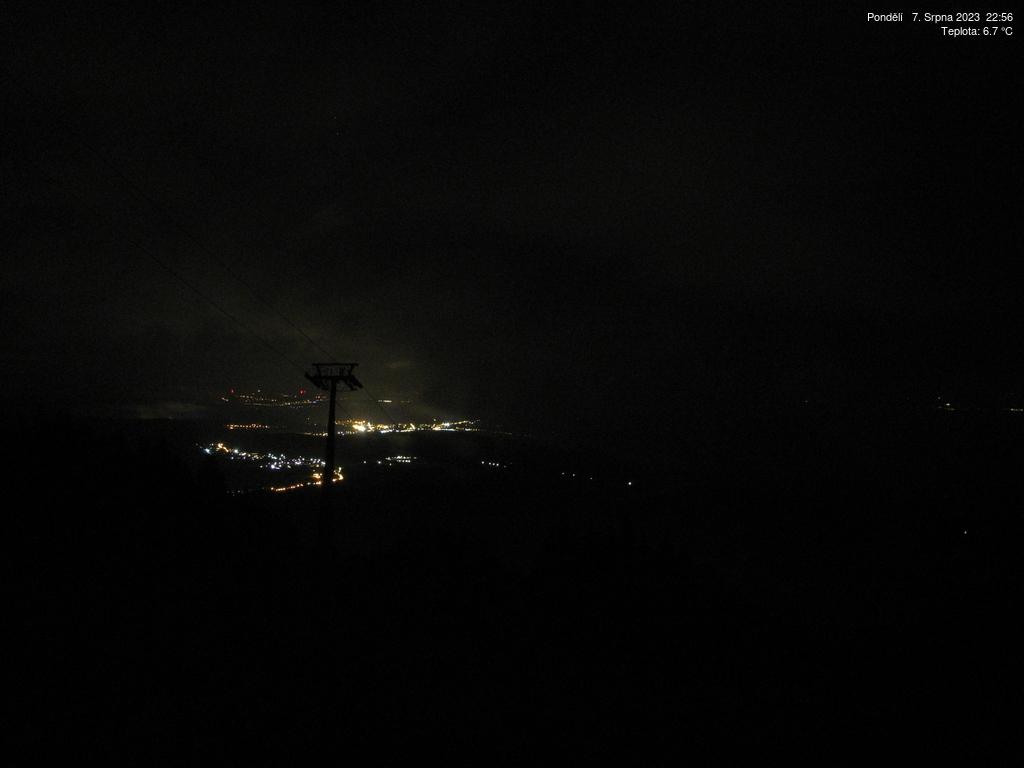 Webcam Skigebiet Janske Lazne Piste - Riesengebirge