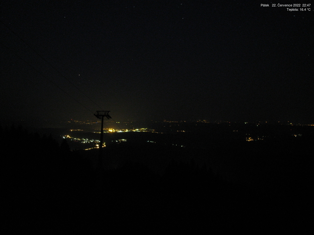 Webcam Ski Resort Janske Lazne Piste - Giant Mountains