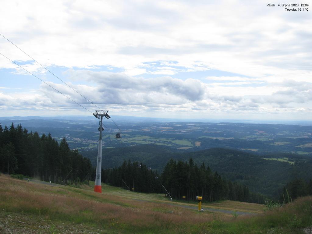 Webcam Ski Resort Janske Lazne Piste - Giant Mountains