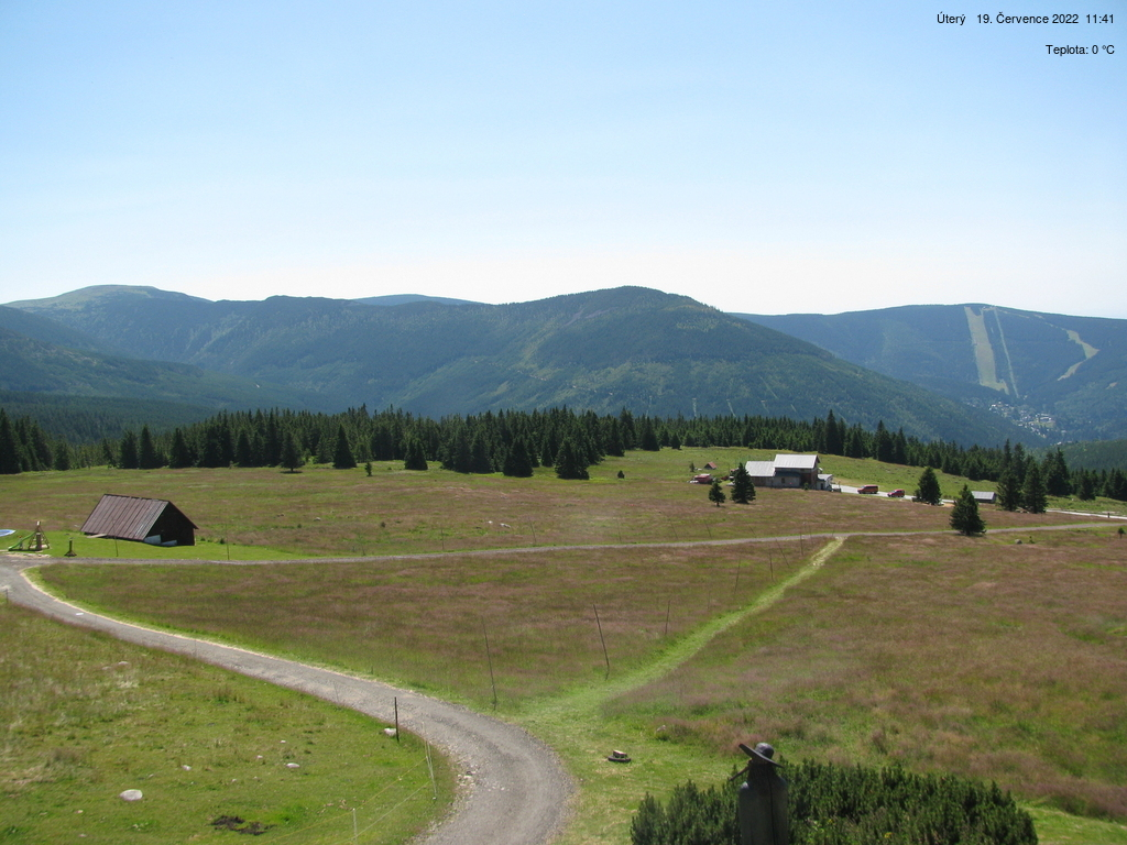 Webkamera - Špindlerův Mlýn, Dvořákova bouda