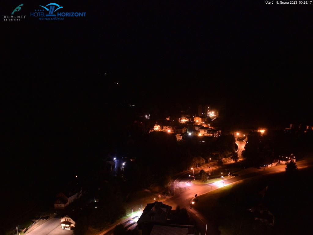 Webkamera v Peci pod Sněžkou - Hotel Horizont
