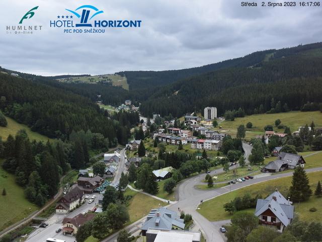 Webcam Skigebiet Pec pod Snezkou Ort - Riesengebirge