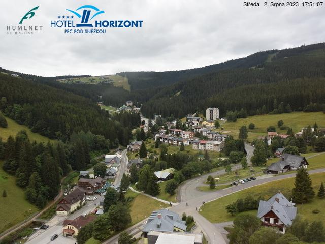 Webcam Skigebied Pec pod Snezkou Ort - Reuzengebergte