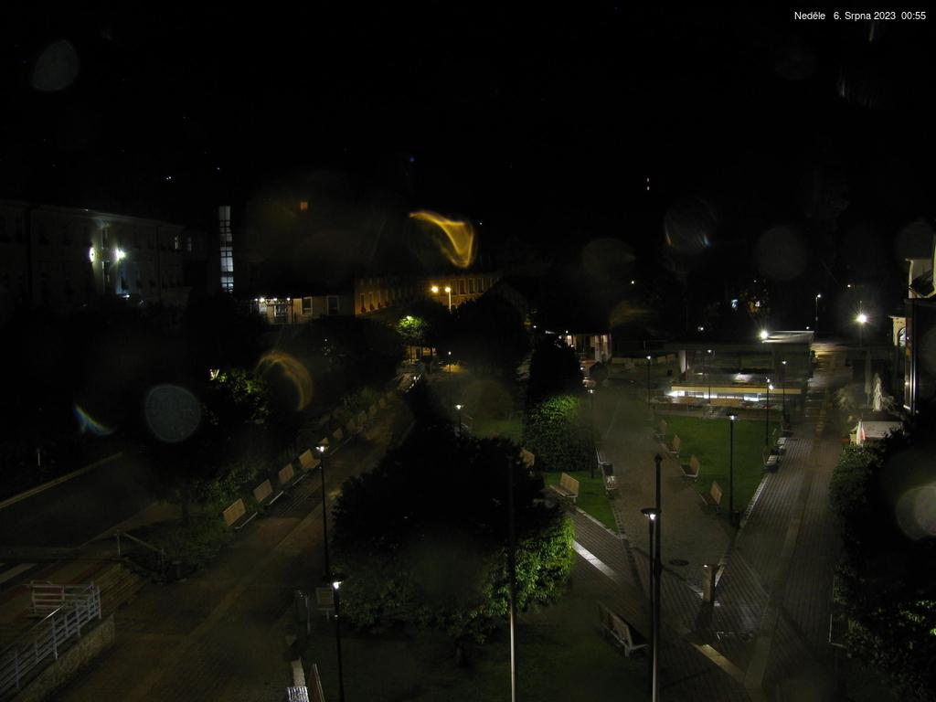 Webcam v centru města Jánské Lázně v Krkonoších