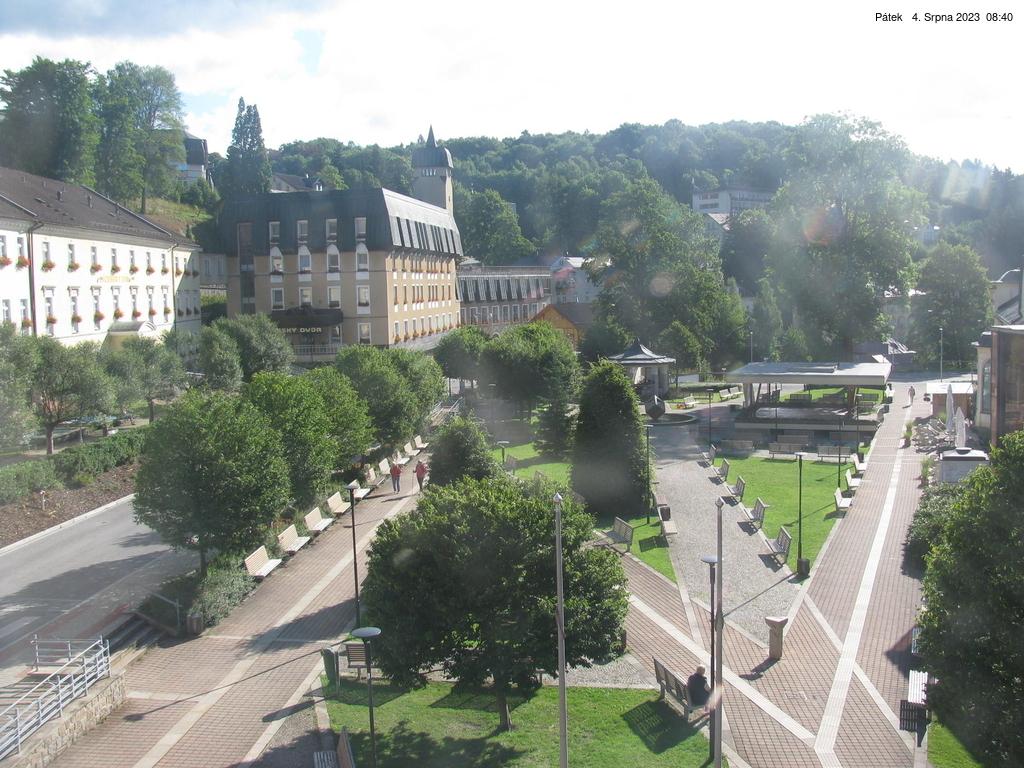 Webcam - Janské Lázně