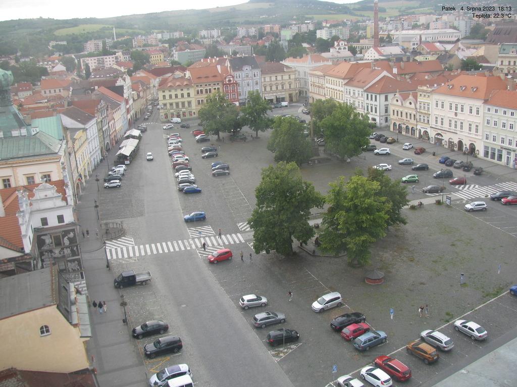 Webkamera na náměstí v Litoměřicích