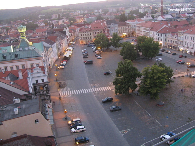 Webkamera Litoměřice - Labe - Terezín - České středohoří