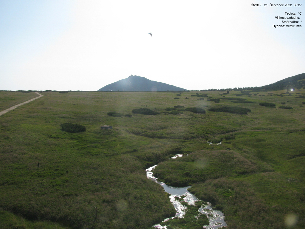 Webkamera Luční bouda v Krkonoších