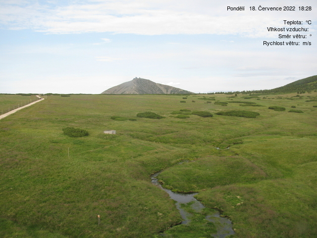 Webcam Skigebied Pec pod Snezkou Lucni Baude - Schneekoppe - Reuzengebergte