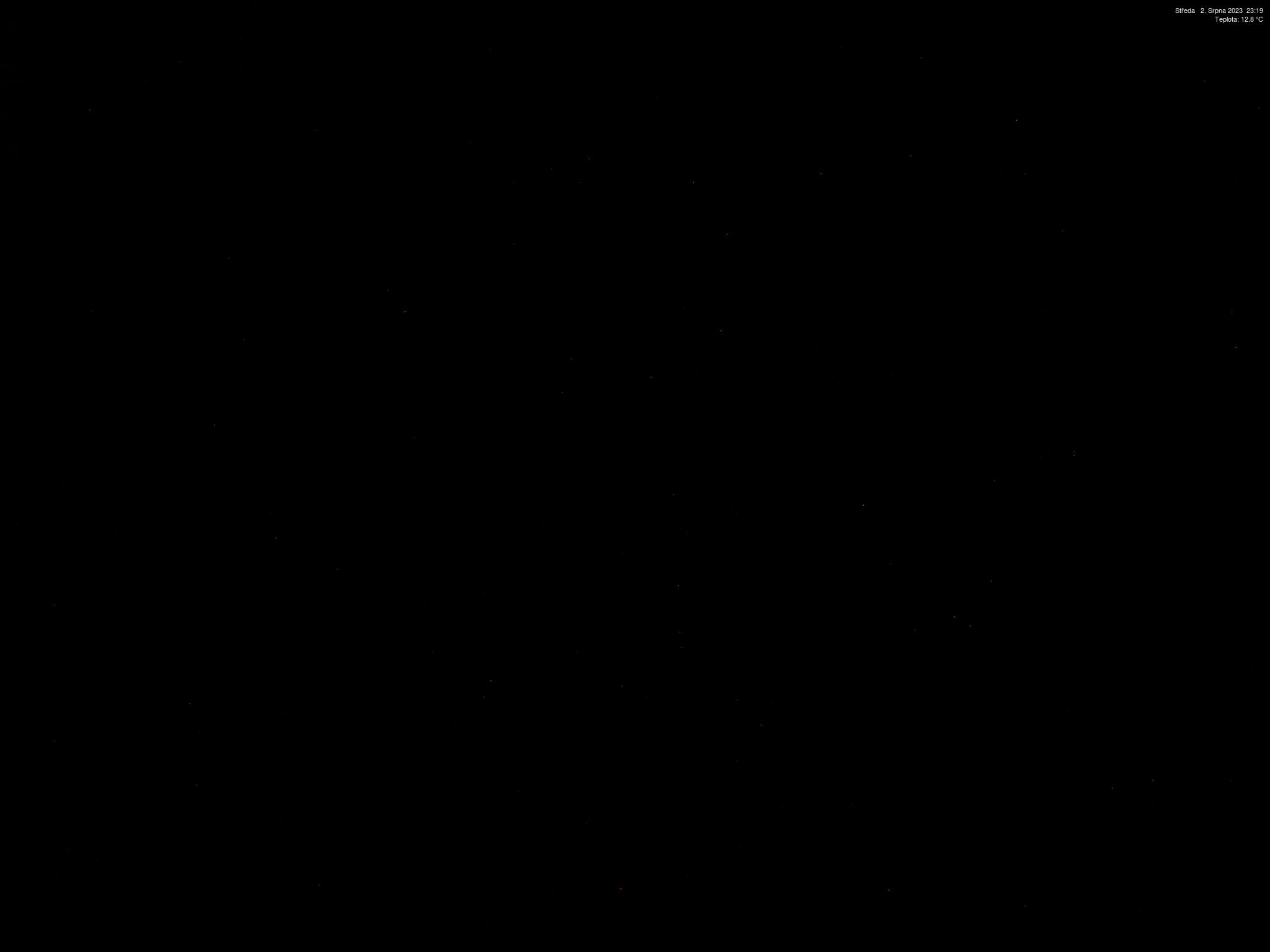 Výhled z Husovy boudy v Krkonoších
