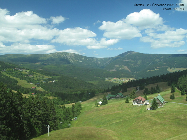 Live camera Pec pod Snezkou from Humlak.cz