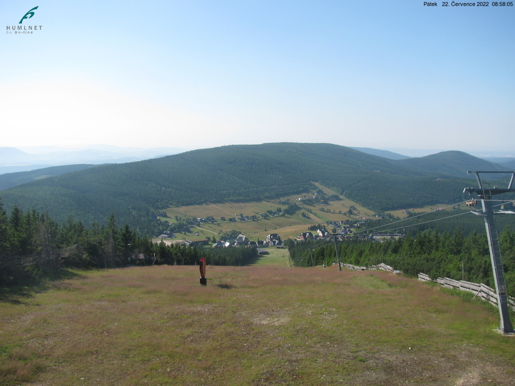 Webkamera Pomezní boudy v Krkonoších