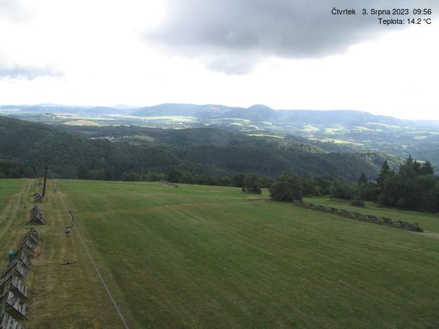 Webcam Skigebiet Zacler Riesengebirge