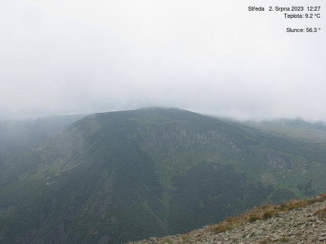 Webcam Skigebied Pec pod Snezkou Studnicni hora - Reuzengebergte