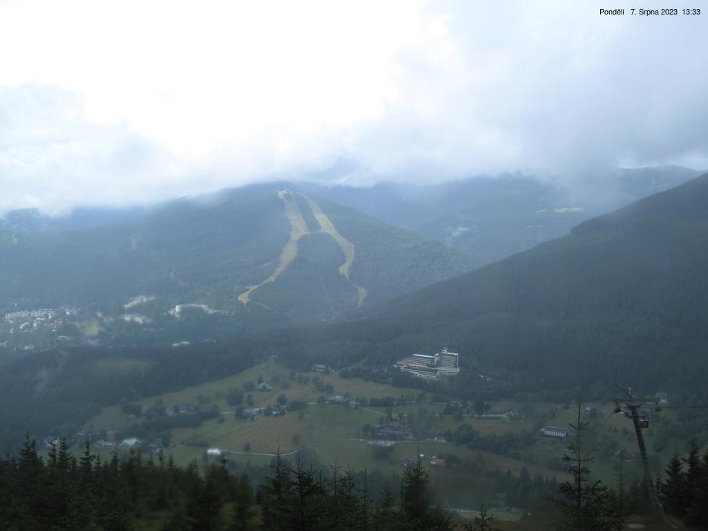 Špindlerův mlýn v Krkonoších - Stoh