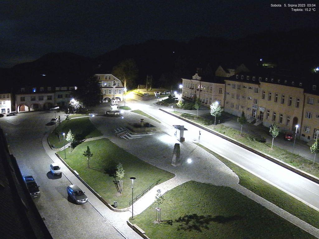 Kamera Žacléř - náměstí